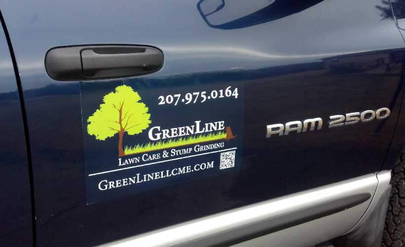 add your business info to your business vehicle without adhesive vinyl
