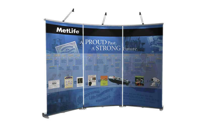 tradeshow displays are the most professional looking displays in the business.
