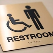 ADA Washroom Sign