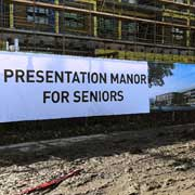 Construction Sign banner