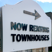 Acrylic Letters outdoor sign