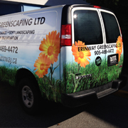 commercial van full color graphic