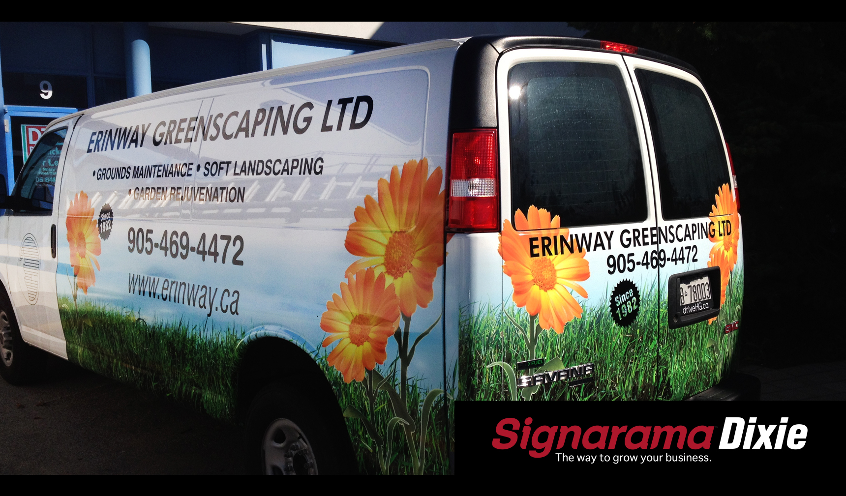 van full graphic wrap