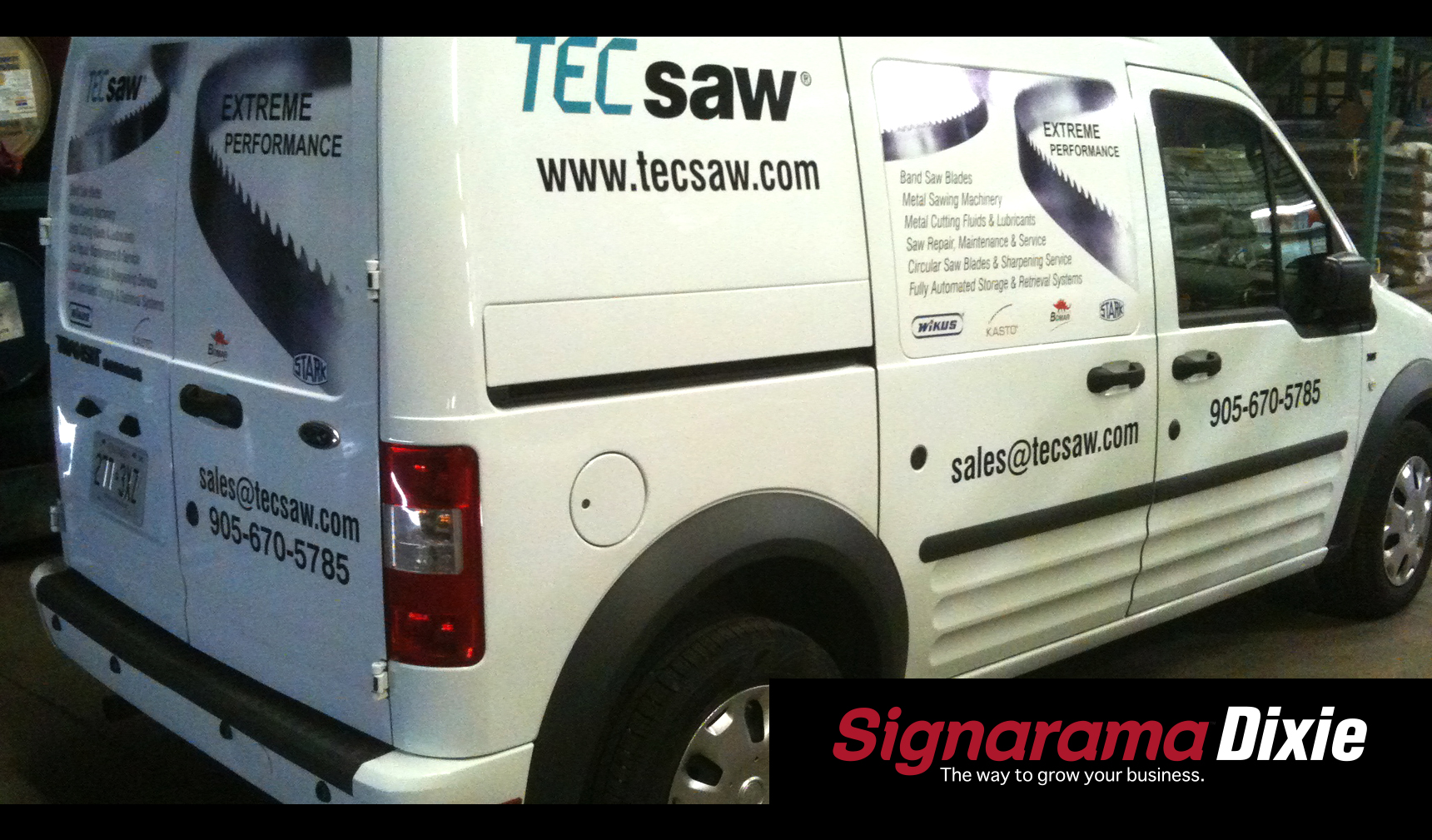 signarama mississuaga vehicle wrap