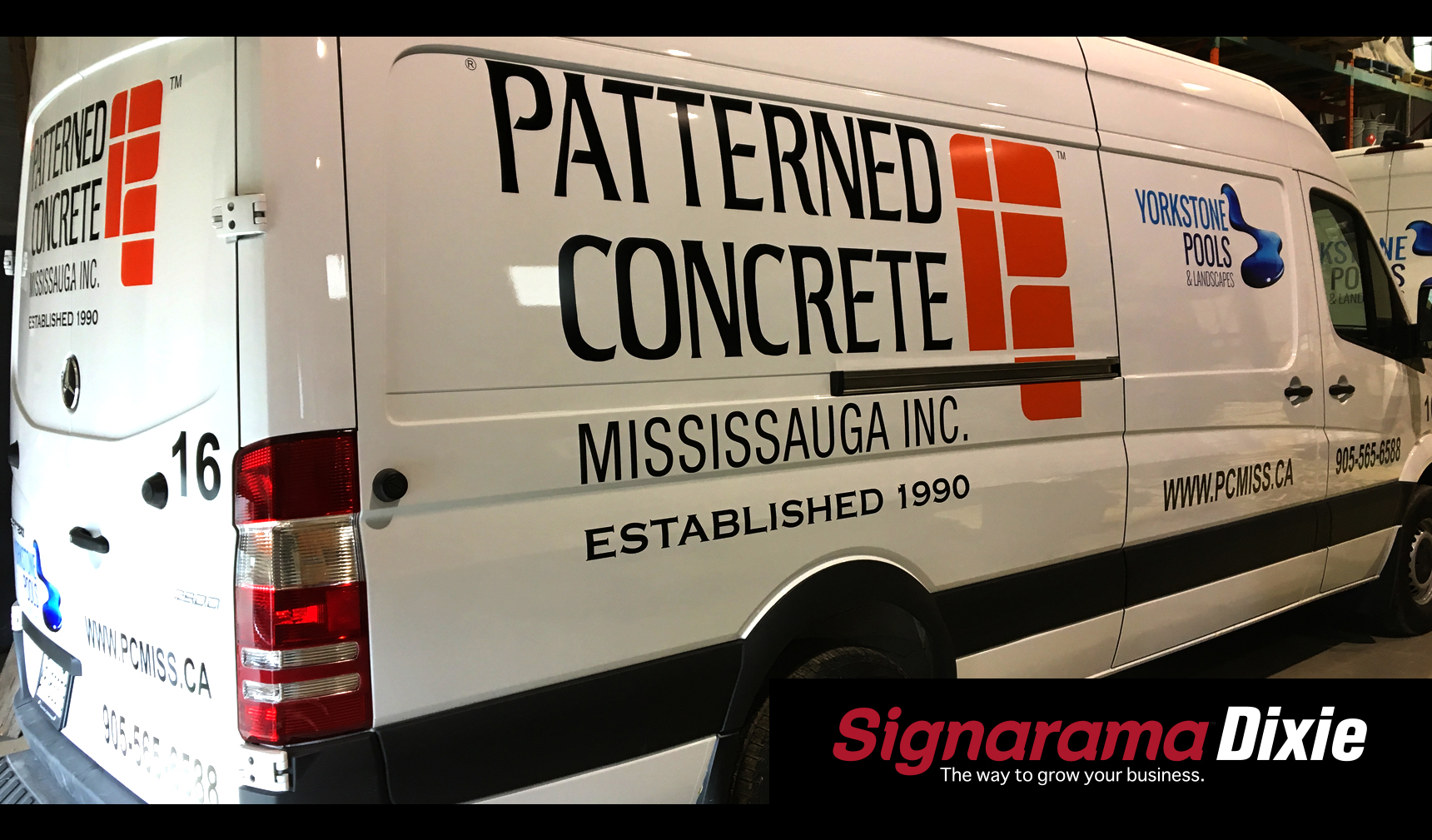 van decal and graphics