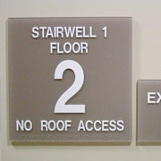 ADA Floor Sign