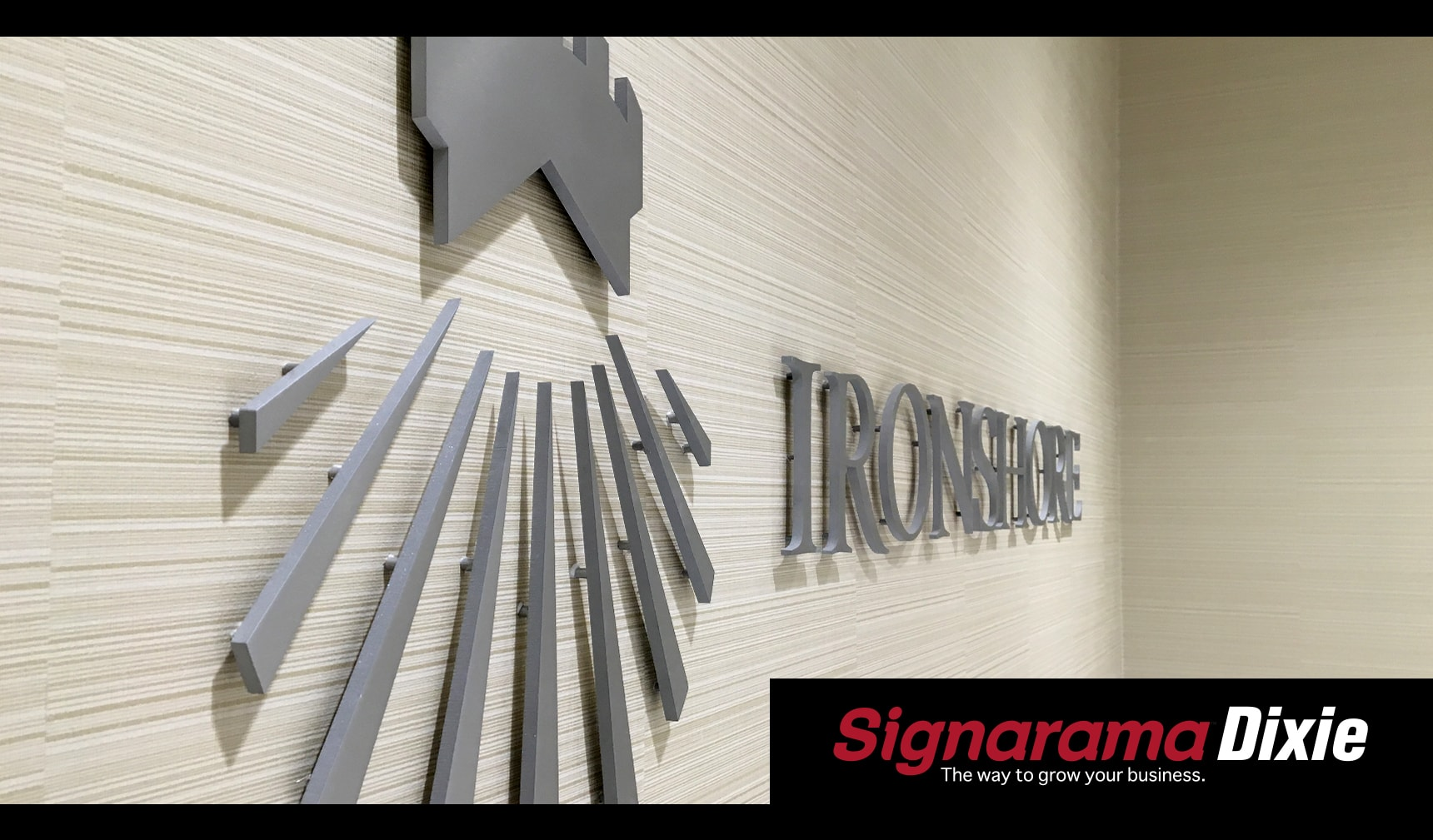 Stainless Steel Lobby Sign