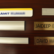 office nameplate 18
