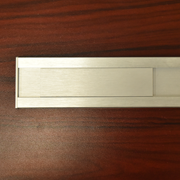 office nameplate 24