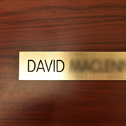 office nameplate 25