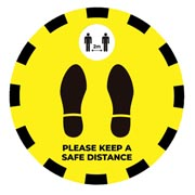 floor safety sign canada