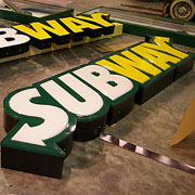 Subway Channel Letter