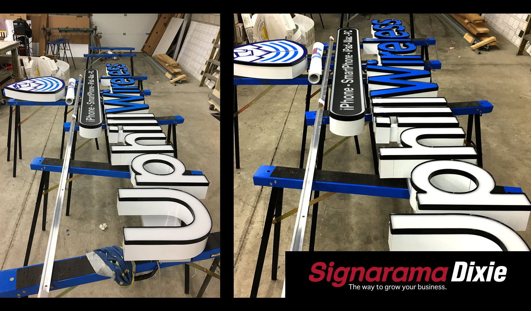 Outdoor Large Letter Sign