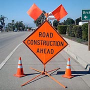 Road Construction Sign 1