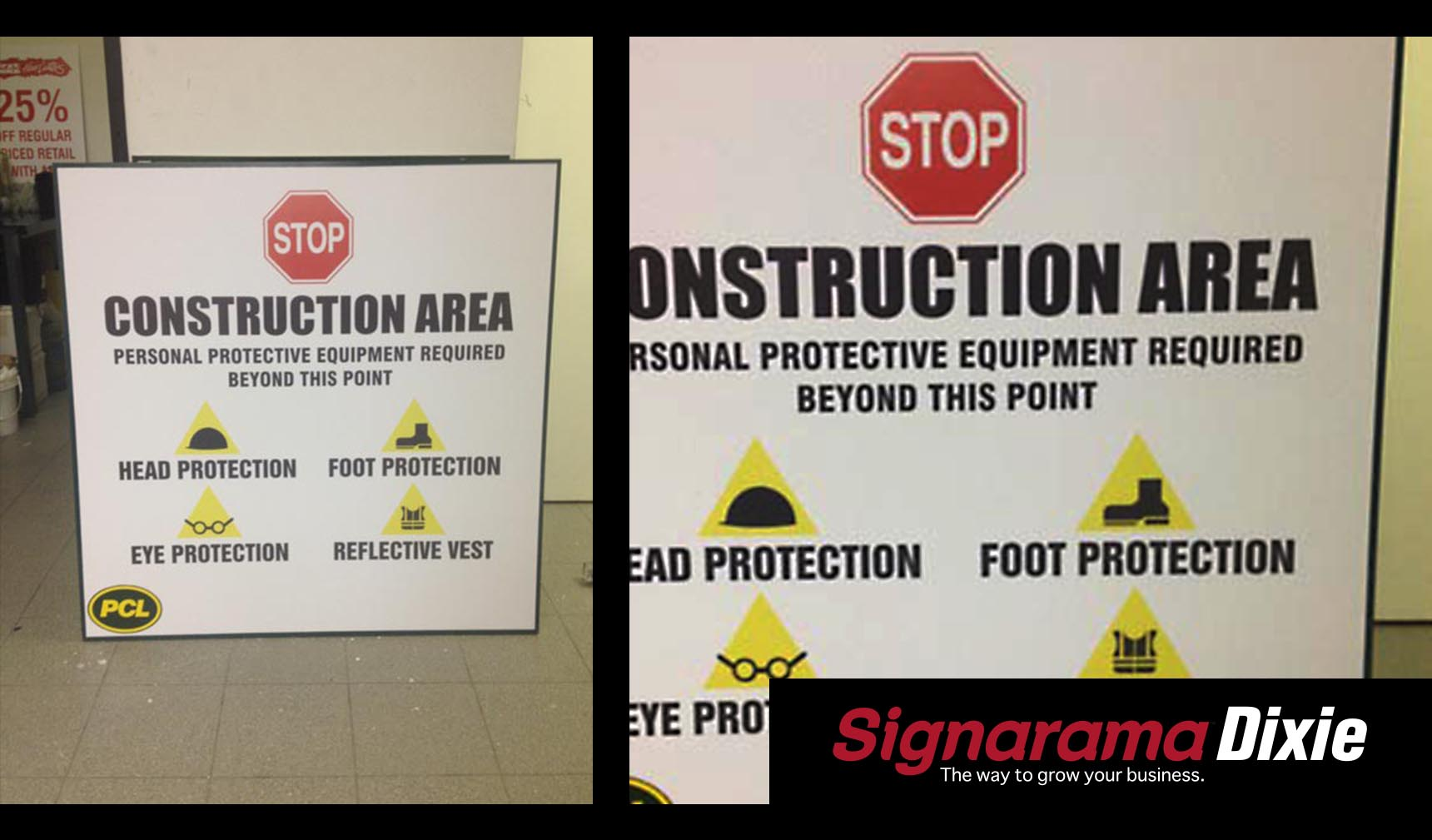 Custom Construction Signs 2