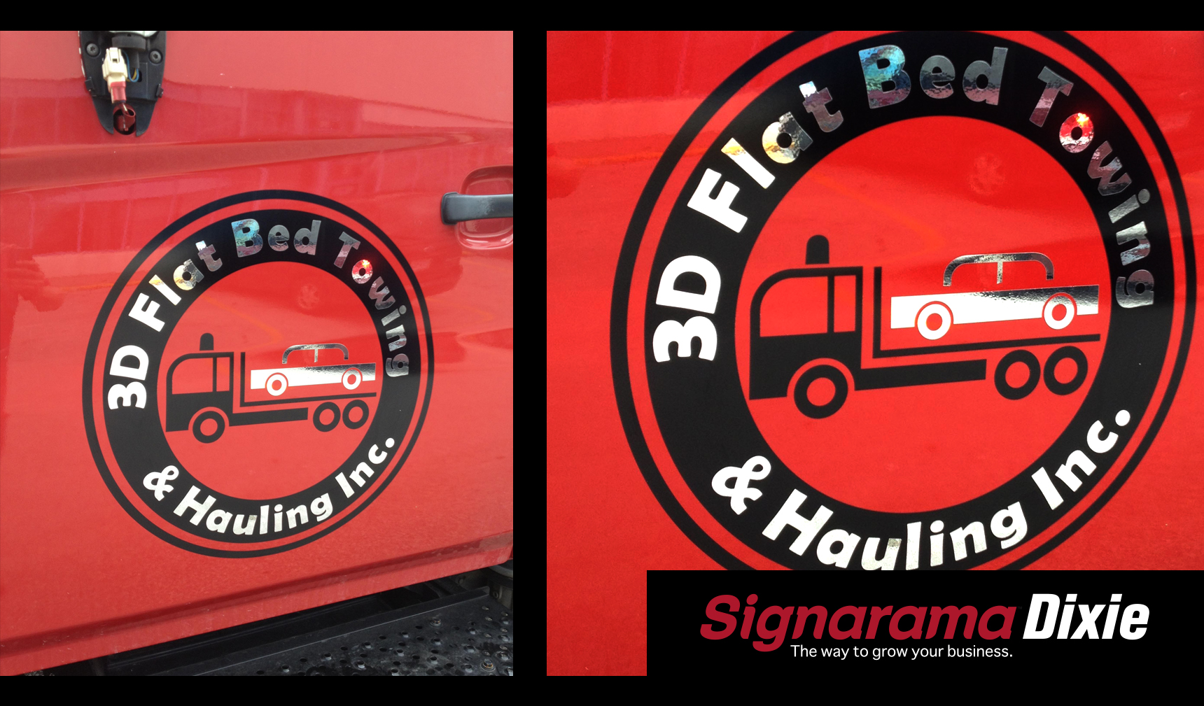Sign Company Truck Wrap